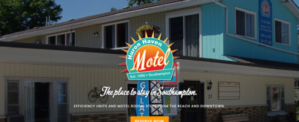 WordPress-Websites-Jennifer-Cooper-Design-Huron-Haven-Motel