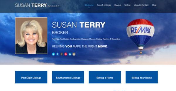 WordPress Website Susan Terry